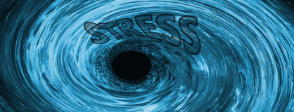 The Stress Vortex. Background Suitable for Custom Content Royalty Free Stock Photography