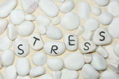 Stress word Royalty Free Stock Images