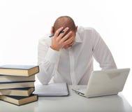 Stress at work Stock Image
