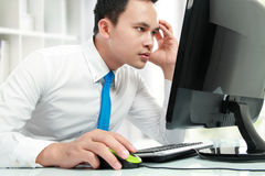 Stress at work Royalty Free Stock Image