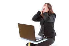 Stress at work? Royalty Free Stock Photography