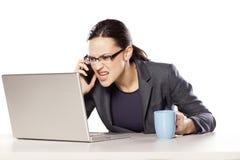 Stress at work Royalty Free Stock Image