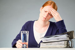 Stress at Work Royalty Free Stock Images