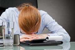 Stress at Work Stock Images