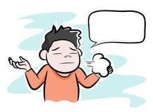 Stressad man som svikas eller Arkivbilder