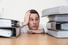 Stressad sammanbrott Arkivbild