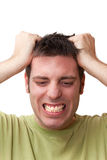 Stressed Royalty Free Stock Photo