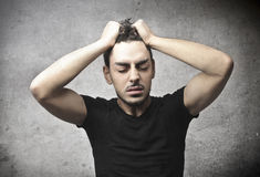 Stressed Royalty Free Stock Images