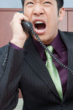 Stressed businessman Stock Photos