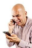Stressed communication Stock Photo