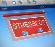 Stressed concept. Stock Image