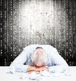 Stressed employee Stock Images
