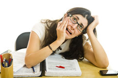Stressed Girl Stock Image