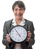 Stressed lady Royalty Free Stock Photos