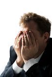 Stressed man Stock Photos