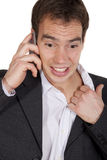 Stressed man Royalty Free Stock Photography