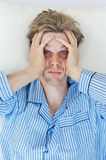 Stressed man Stock Image