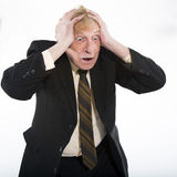 Stressed business man Stock Image