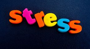 Stressed out ? Royalty Free Stock Photography