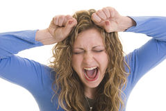 Stressed out Stock Images