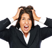 Stressed out Royalty Free Stock Images