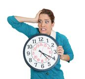 Stressed out of time Royalty Free Stock Photography