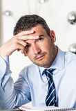 Stressed and overbooked Royalty Free Stock Photography