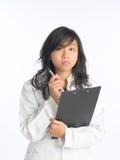 Stressed During Presentation Stock Photos