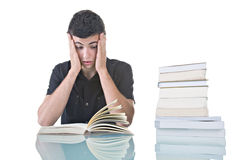 Stressed Student Royalty Free Stock Image