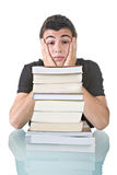 Stressed Student Royalty Free Stock Photography