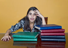 Stressed Teenager Stock Images