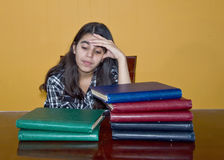 Stressed Teenager Stock Photography