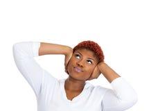 Stressed woman Stock Photos