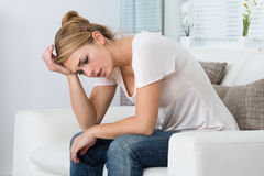 Free Stressed Woman Stock Images - 76667614