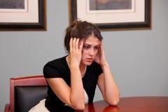 Stressed women Royalty Free Stock Photos