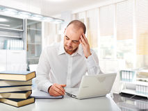Stressed worker Stock Photos