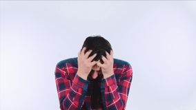 Depression feeling stock video