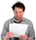 Stressful Documents Stock Photography