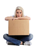 Stressful move Stock Photo