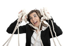 Stressful work Stock Photography