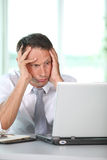 Stressful working day Stock Photography