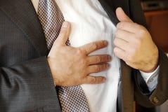 stressiga problem för jobb Royaltyfri Fotografi