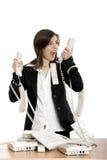 Stressvolle Arbeit Lizenzfreies Stockfoto