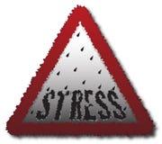 Stressy Signpost Stock Photo