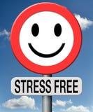 Stresu bezpłatny relaks żadny nacisk Zdjęcie Royalty Free