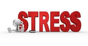 Stresu pojęcie Zdjęcia Royalty Free