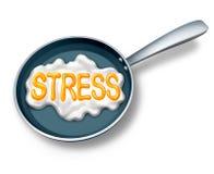 Stresu pojęcie Fotografia Royalty Free