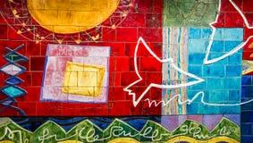 streszczenie ściany Obraz Royalty Free