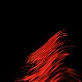 streszczenie czerwone linie ilustracja wektor