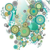 streszczenie green Obrazy Royalty Free